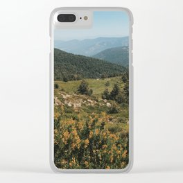 Laguna de los Pájaros Trail Clear iPhone Case