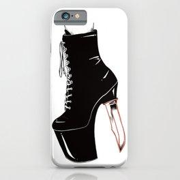 Killer Kicks iPhone Case