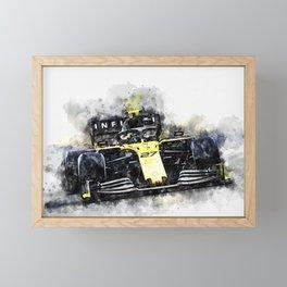 Nico Hulkenberg Framed Mini Art Print