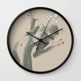 get ready to fly Wall Clock