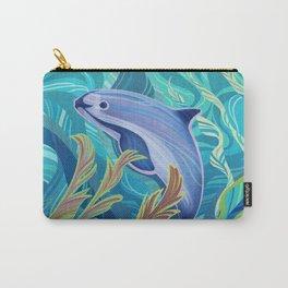 Endangered Vaquita Marina. Carry-All Pouch