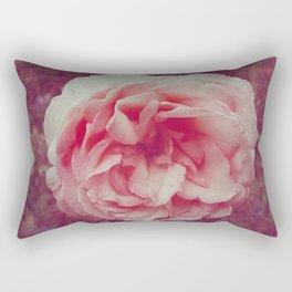 VINTAGE ROSE BLOSSOM Rectangular Pillow