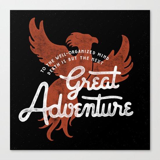 Great Adventure Canvas Print