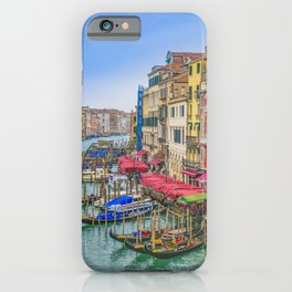 Aerial View Grand Canal of Venice, Italy iPhone Case