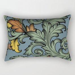Acanthus Leaves Rectangular Pillow
