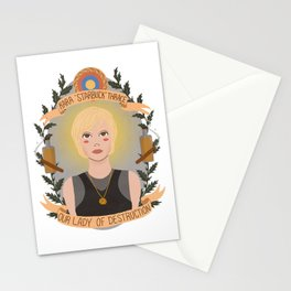 "Kara ""Starbuck"" Thrace Stationery Cards"