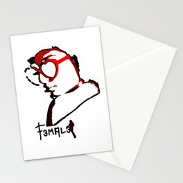 F3mal3s #3 Stationery Cards