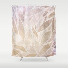Brownie leaves Shower Curtain