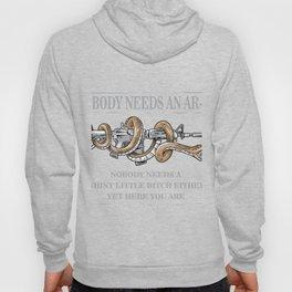 Nobody Needs An AR-15 Gun Rights Shirt Hoody