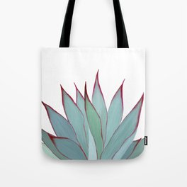 Elegant Agave Fringe Illustration Tote Bag