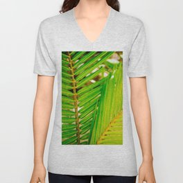Palm summer Unisex V-Neck