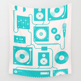 Electronica Wall Tapestry
