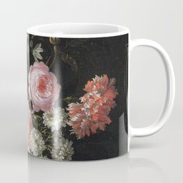 Jean Baptiste Monnoyer - A Bouquet Of Chamomile  Coffee Mug