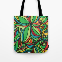 Groovy Plant Vibes Tote Bag