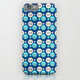 Mati Evil eye protection pattern iPhone Case