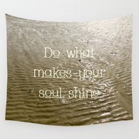 soul Wall Tapestries featuring Soul by Alice Gosling