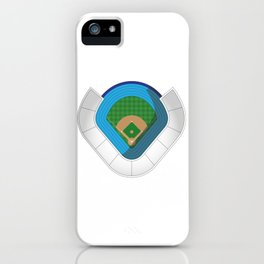 Baseball Stadium iPhone Case
