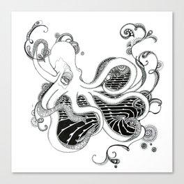 'Kraken' Canvas Print