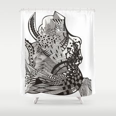 abstract vol 1 Shower Curtain