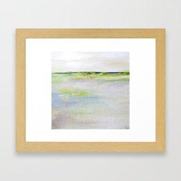 Grisant série horizon Framed Art Print