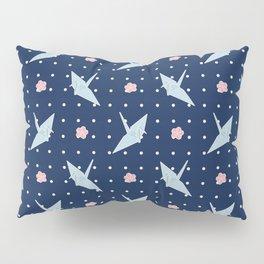 Paper Crane Sky Pillow Sham