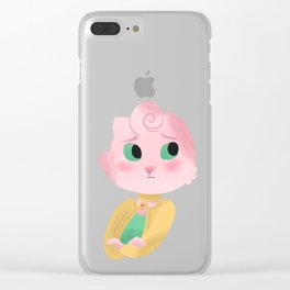 Aw Fish Clear iPhone Case