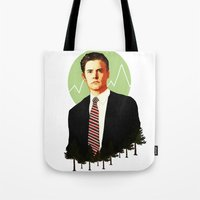 dale cooper Tote Bags featuring Cooper by chazstity