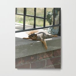 Someone there Metal Print