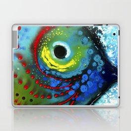 Tropical Fish - Colorful Beach Art By Sharon Cummings Laptop & iPad Skin