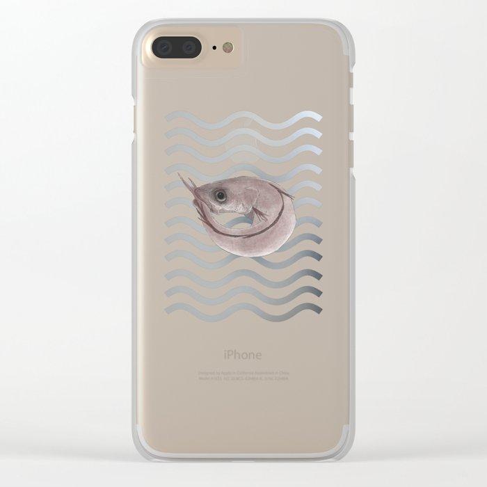 Pescadilla Clear iPhone Case