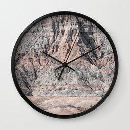 Badlands Jag Wall Clock