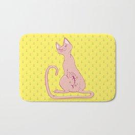 Cats with Tats Bath Mat