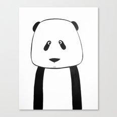 No. 007 - Modern Kids and Nursery Art - The Panda Canvas Print