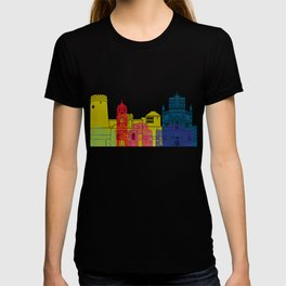 Rijeka skyline pop T-shirt