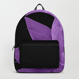 Purple Agave #1 #tropical #decor #art #society6 Backpack