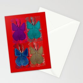 Stagerfly Collage Stationery Cards