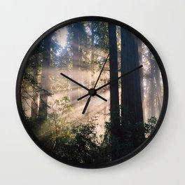Avenue of the Giants Wall Clock