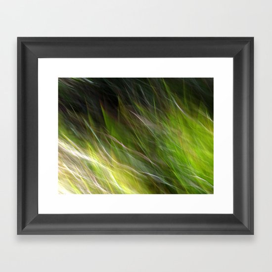 Watching the Wind Blow #2 Framed Art Print