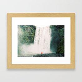 Iceland - Skógafoss (Leica M3 & Kodak film) Framed Art Print