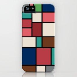 The Colors of / Mondrian Series - Spirited Away - Miyazaki iPhone Case