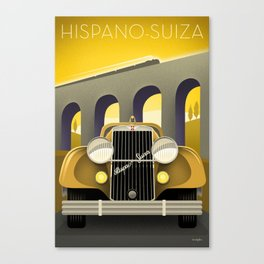 Hispano-Suiza Canvas Print