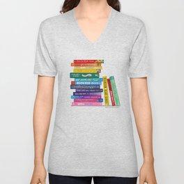 Rainbow Books Unisex V-Neck