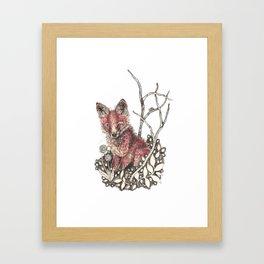 little kit Framed Art Print
