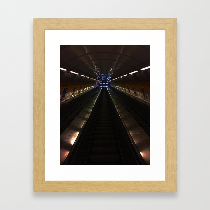 Stairway to awesomeness Framed Art Print
