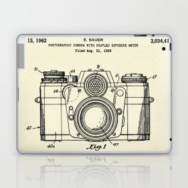 Photographic Camera with coupled exposure meter-1962 Laptop & iPad Skin