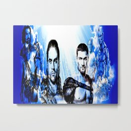 Gladiators Into the Afterlife Metal Print