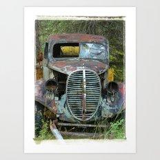 OldTruck Art Print