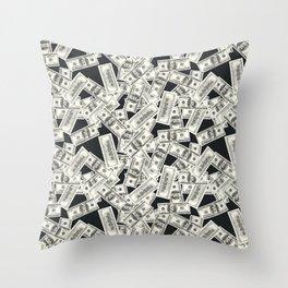Conversational (Money) : TM17085 Throw Pillow