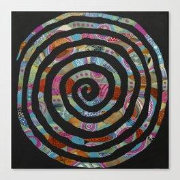 """Tribal Vibrations"" Canvas Print"