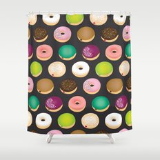 Sweet Donuts Shower Curtain